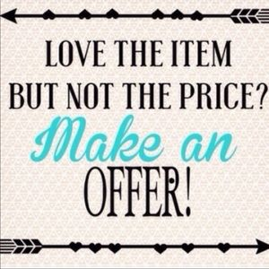 👉 See something you like? Make an offer! 😉